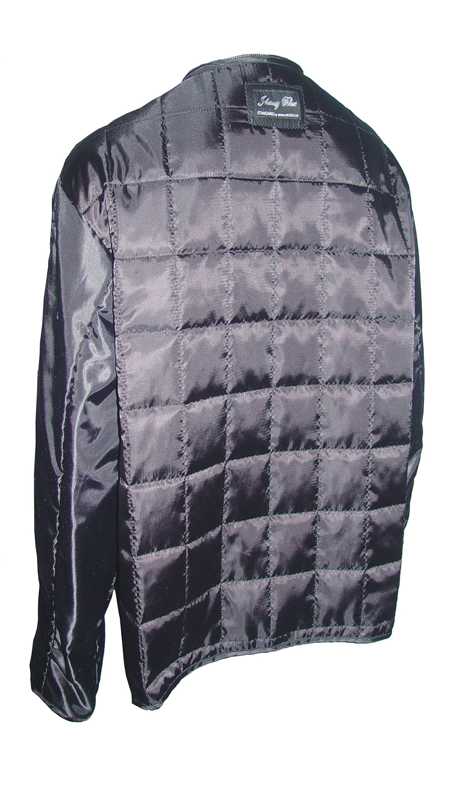 Paccilo 4 Season Wear Womens 4177 PETITE & ALL SIZELambskin Leather Parka Jacket by Paccilo (Image #3)