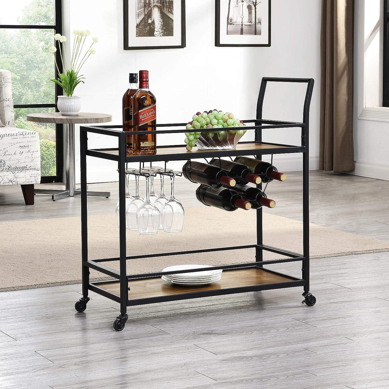 FirsTime & Co. Gardner Industrial Bar Cart, 32