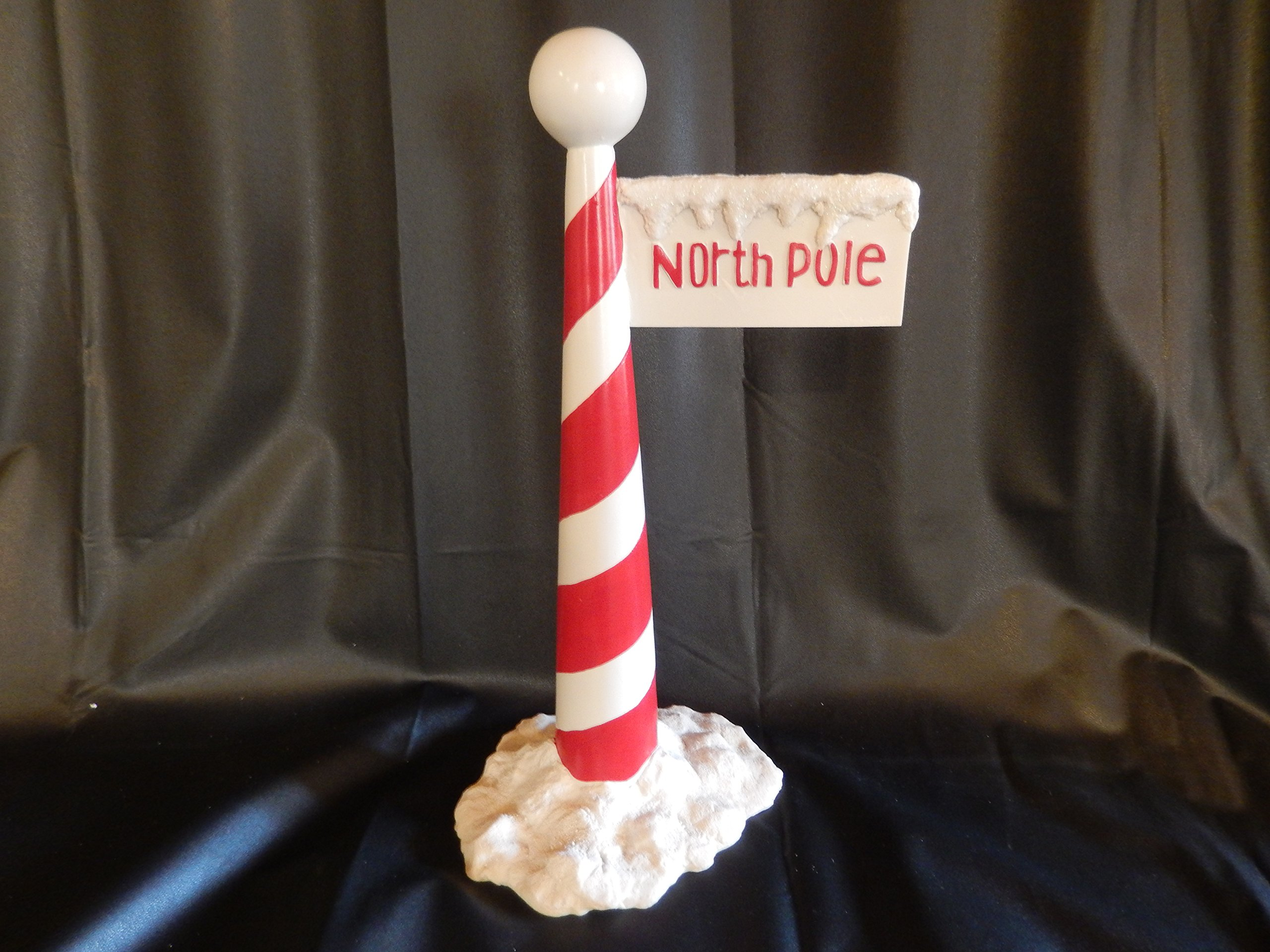 Zims 16'' The Elves Themselves North Pole Sign Collectible Christmas Decoration