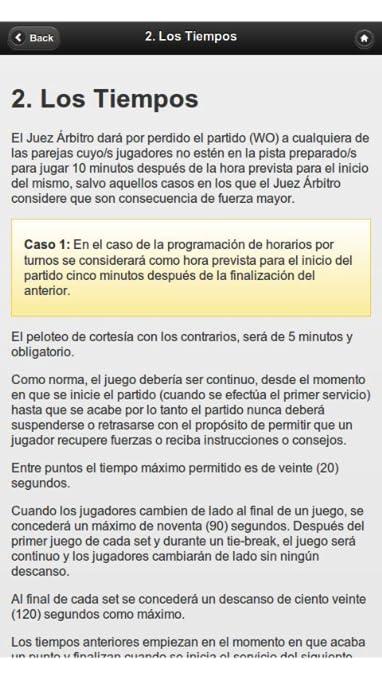 Amazon.com: Spanish Paddle Tennis Rules (Reglamento de Pádel): Appstore for Android