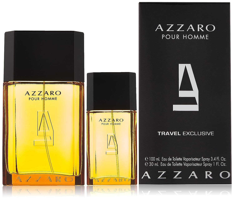 'Azzaro pour Homme Man Set (Eau de Toilette 100ML + Eau de Toilette 30ML) 1er Pack (1X 1pezzi) 3351500000890