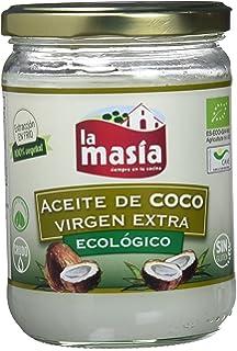 La Masia - Aceite De Coco Virgen Extra Ecológico - 430 ml