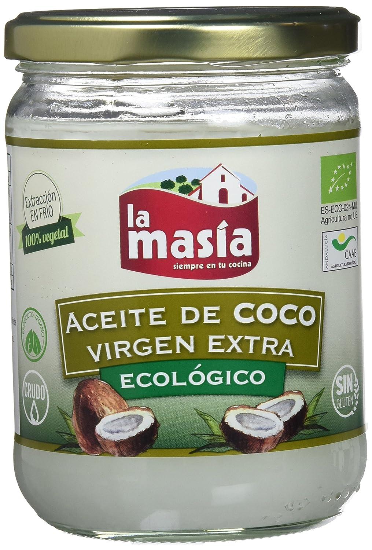 comprar Aceite puro de coco virgen extra orgánico La Masia