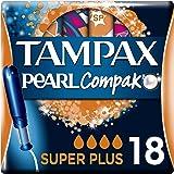 Tampax Compak Pearl Super Plus con Aplicador, el Mejor Tampón Tampax en Comodidad,…