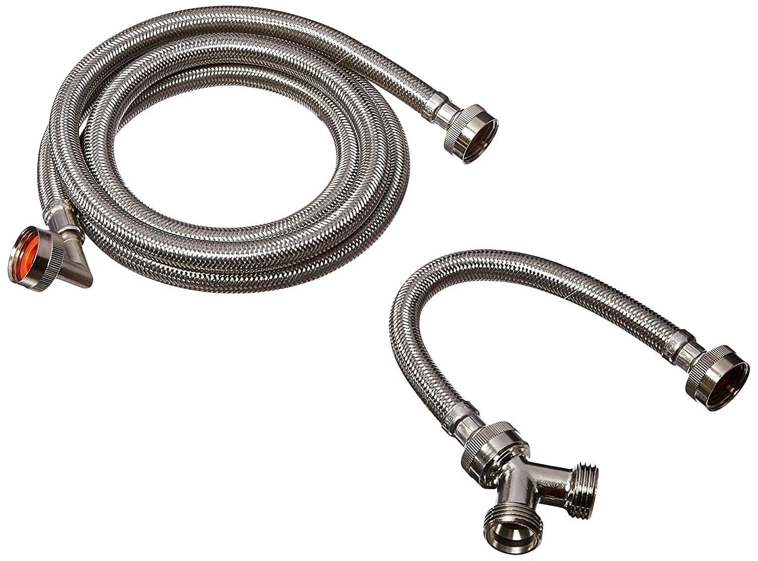 Eastman 41025 Stainless Steel Steam Dryer Installation Kit, 6 Ft Length, Silver