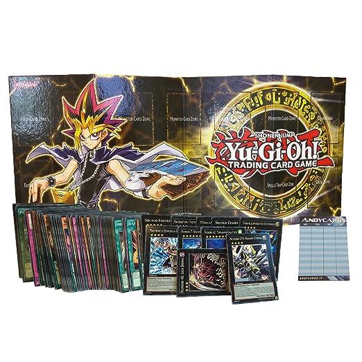 2 opinioni per Lotto 100 carte Yu-Gi-Oh! IN ITALIANO con min. 7 mostri XYZ dei quali 3 sono