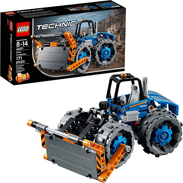 Top 9 Lego Technic Compactor