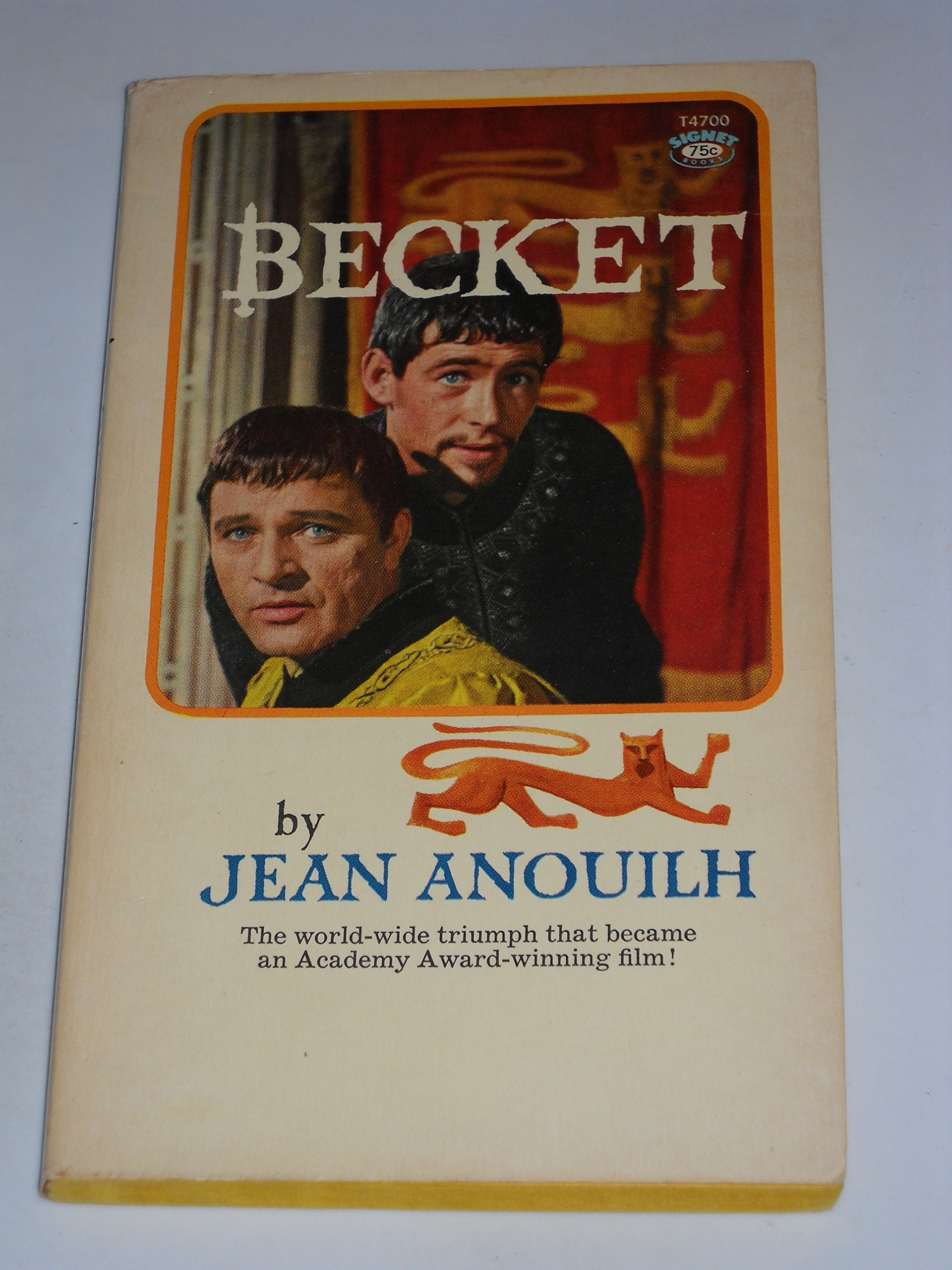 becket or the honor of god essay