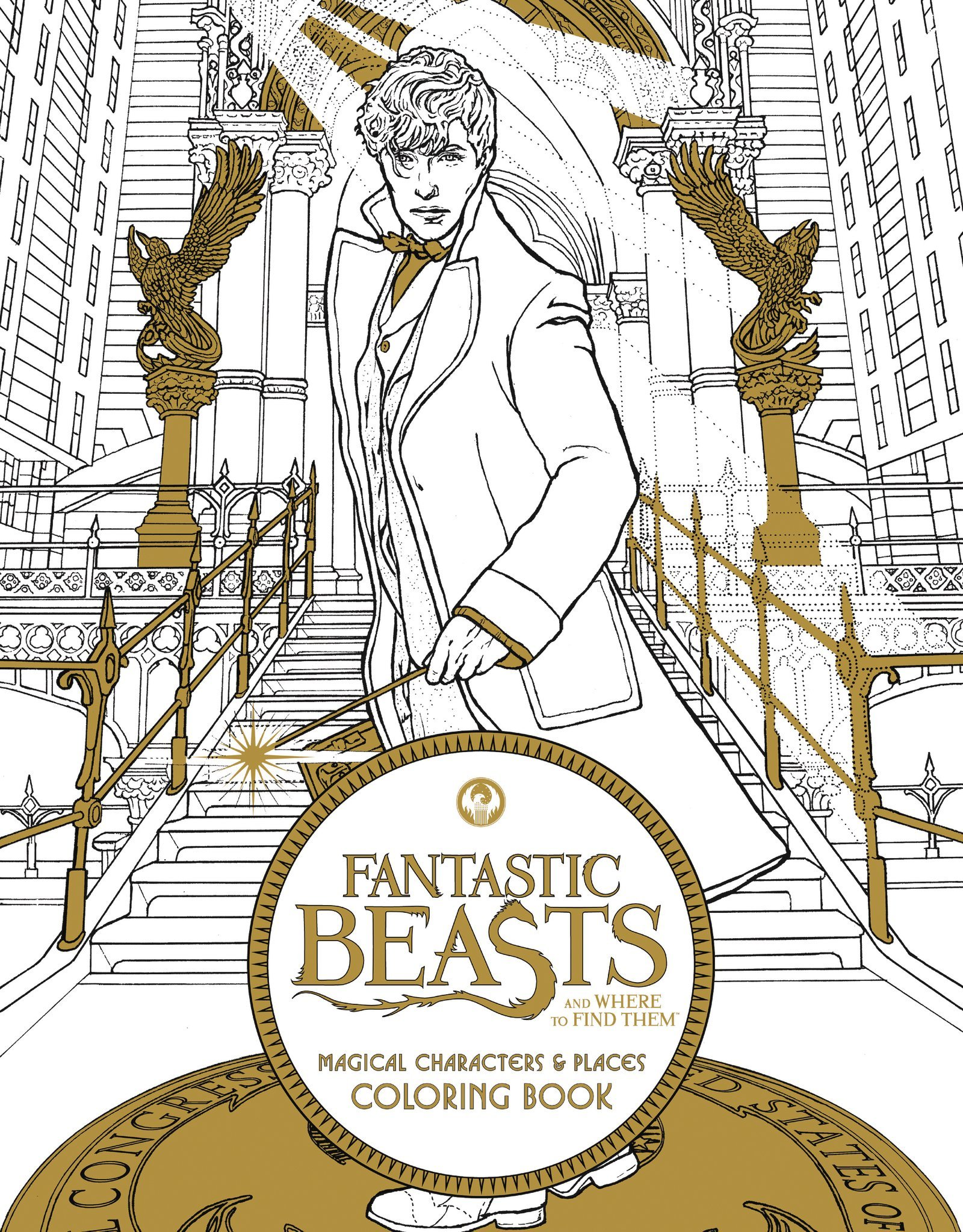 A fun magic coloring book amazon - Fantastic Beasts And Where To Find Them Magical Characters And Places Coloring Book Harpercollins Publishers 9780062571359 Amazon Com Books