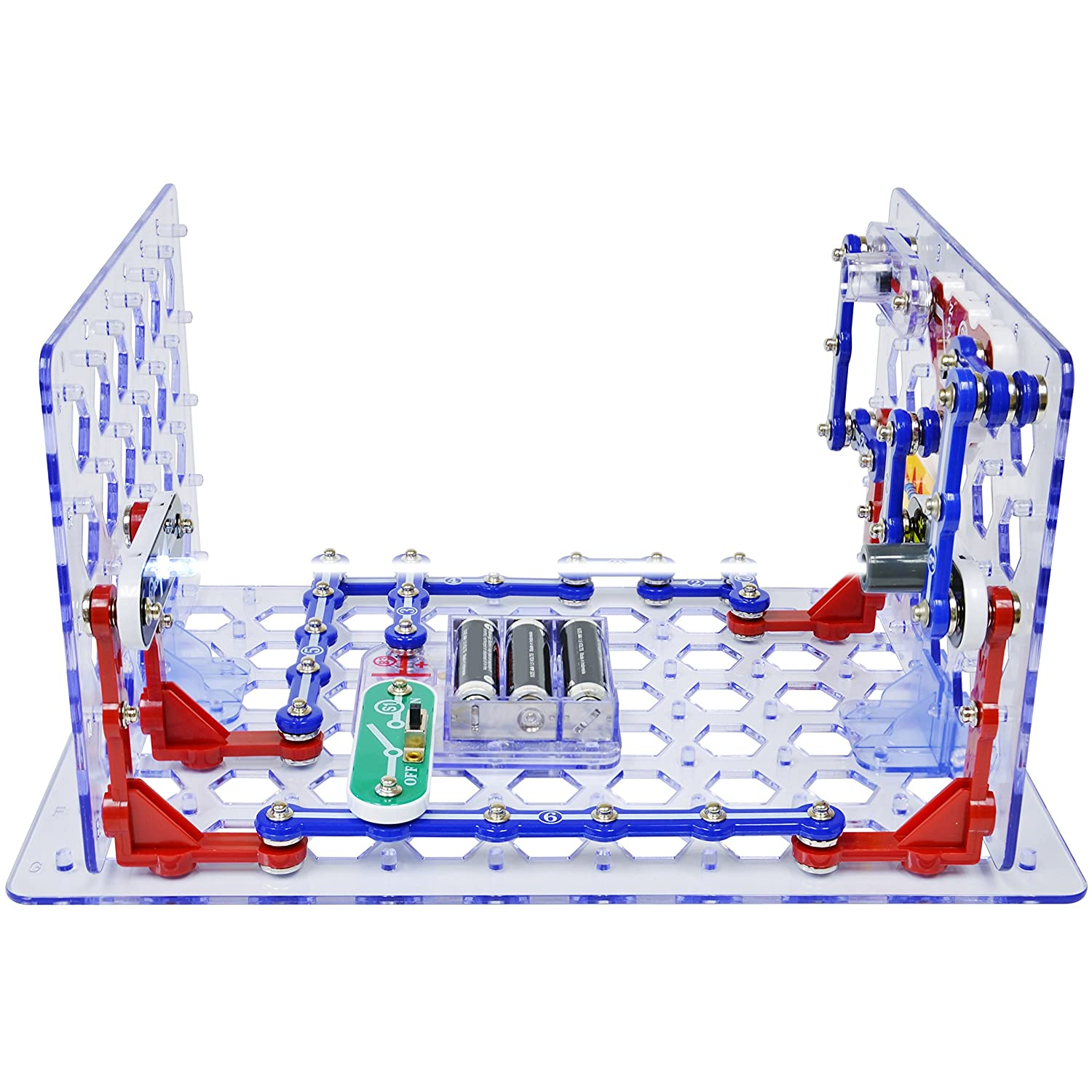 Snap Circuits 3d Illumination Electronics Exploration Elenco Pro Sc500 Discovery Kit Science Over 150 Stem Projects 4 Color Project Manual 50 Modules Unlimited Fun