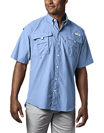 b0d8cc39bdb Columbia Men s PFG Bahama II Short Sleeve Shirt