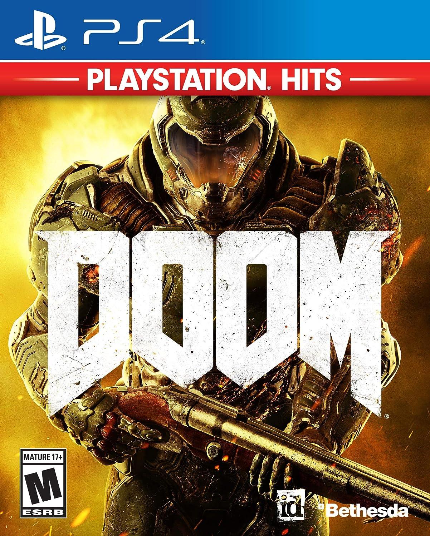 Amazon com: Doom - PlayStation 4 [video game]: Bethesda