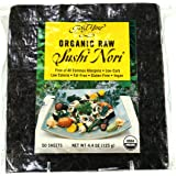 Gold Mine Organic Raw Sushi Nori, 50 Sheet, 4.4 Ounce