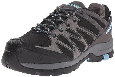 1c83e9bd63 Wolverine Fletcher Low CarbonMax Waterproof Hiking Shoe Women 5 Grey Blue