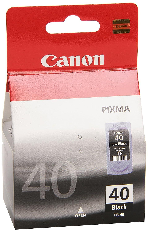 Canon PG-40 Cartucho de tinta original Negro para Impresora de Inyeccion de tinta Pixma ...