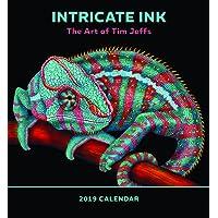Intricate Ink - the Art of Tim Jeffs 2019 Calendar