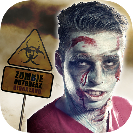ZombieFaced - The Zombie Face Maker Booth With Scary Images for Halloween -