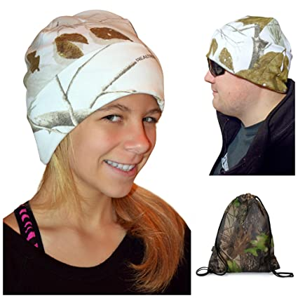 a0e073c5b8e Image Unavailable. Image not available for. Color  Realtree Snow Beanie Cap