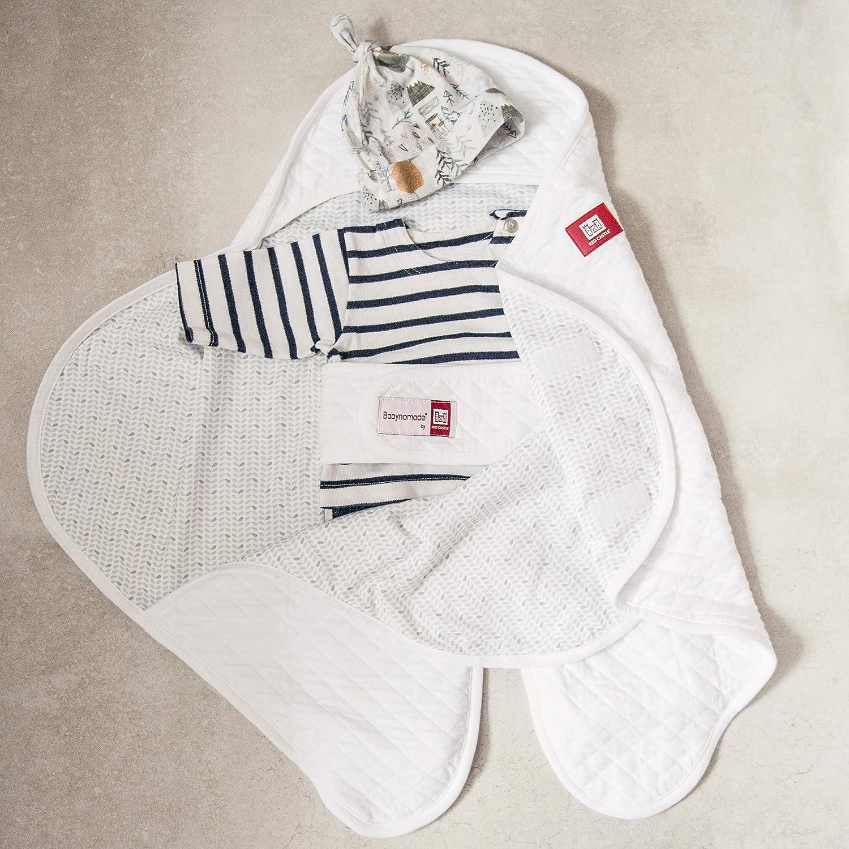 Pucktuch Leichte Baumwolle Decke Perlgrau Red Castle Babynomade 0-6 Monate