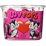 Luv Pops Cherry Flavored 40ct. Tub