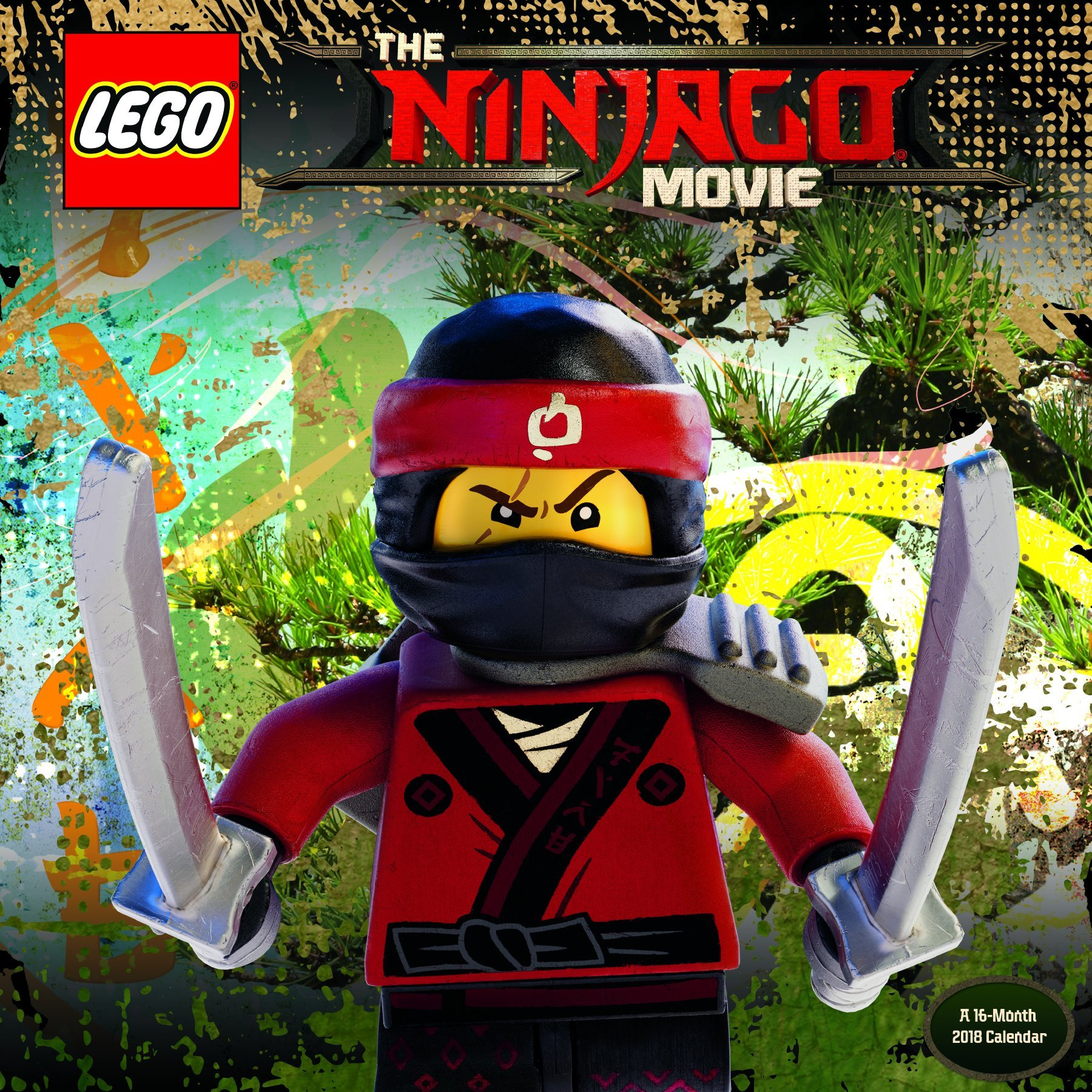 The Lego Ninjago Movie 2018 Calendar