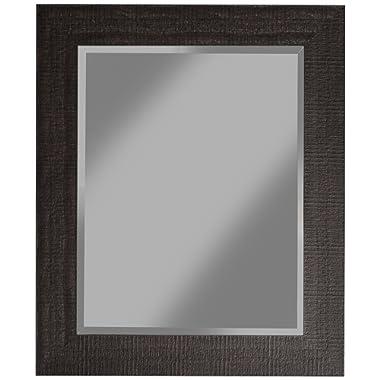 Sandberg Furniture 18817 Wall Mirror, 36  x 30 , Espresso