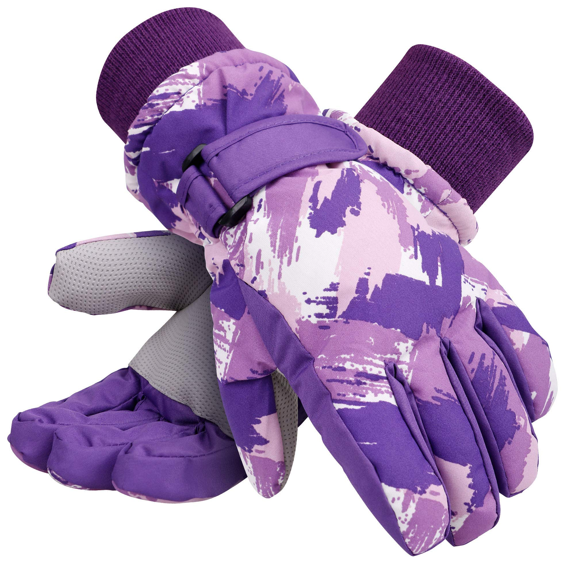 Galexia Zero Kids Winter Gloves Waterproof Thinsulate Lining Snow Ski Gloves L