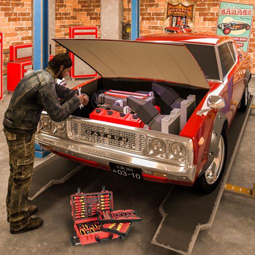 Car Tycoon : Car Mechanic Simulator Junkyard Games