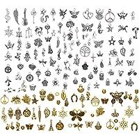 LABOTA 150 piezas Colgantes tibetanos del encanto