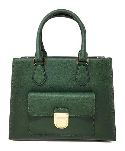 6591efcb911f MICHAEL Michael Kors Women s Bridgette Medium Tote Leather Handbag   Handbags  Amazon.com