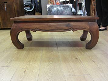 Awesome Thai Rosewood Opium Coffee Table   100 X 50 X 40cm