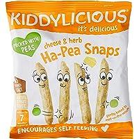 Kiddylicious Ha-Pea Snaps Cheese and Herb, 15 g