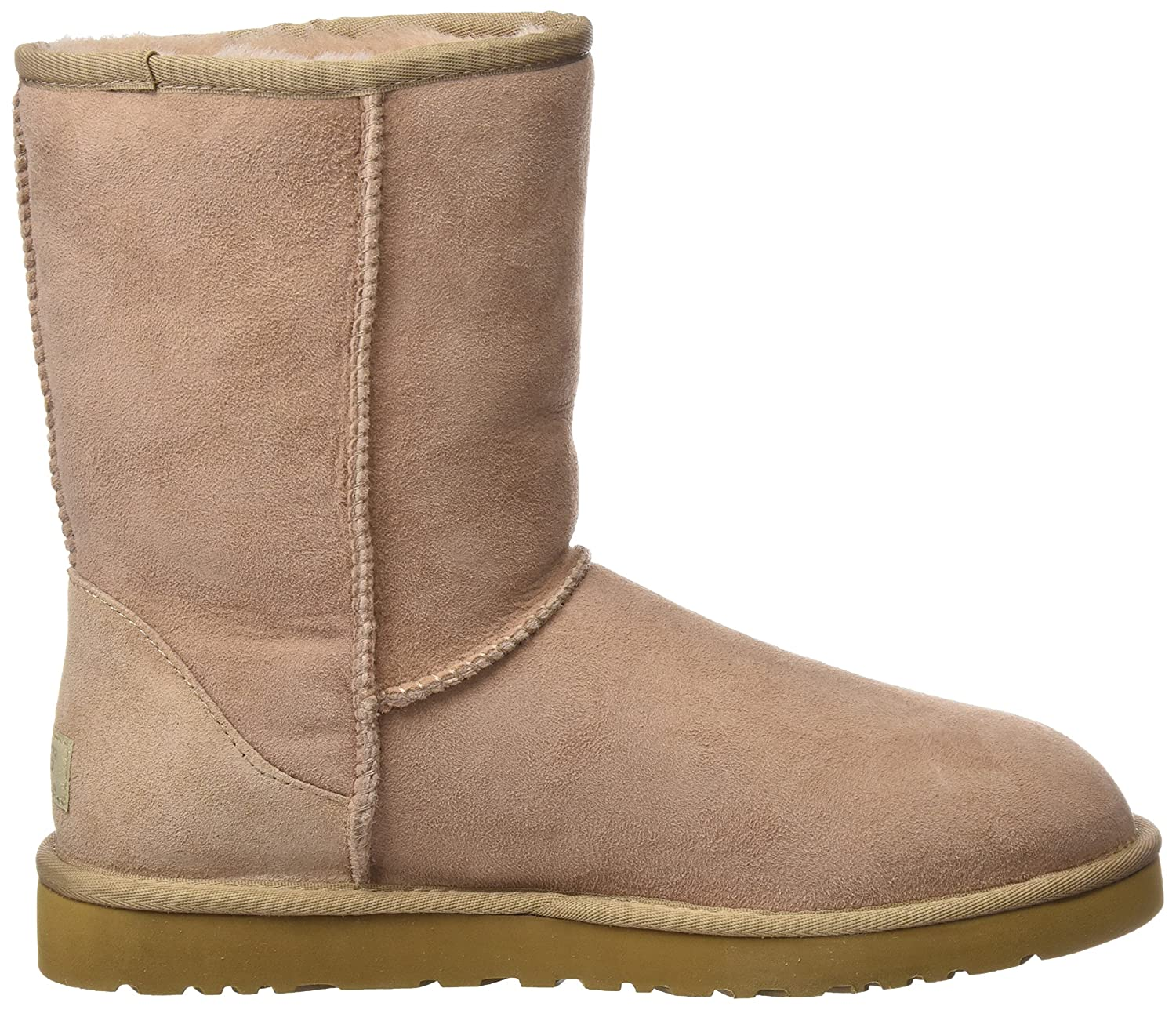 UGG Women's UGG W Classic Short Unlined Slip-On Boots Half Length:  Amazon.co.uk: Shoes & Bags