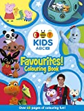 ABC KIDS Favourites! Colouring Book (Blue)