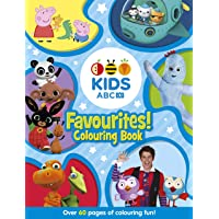 ABC KIDS Favourites Colouring Book (Blue)