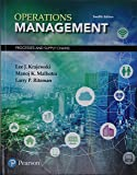 Operations Management: Processes and Supply Chains Plus MyLab Operations Management with Pearson eText -- Access Card Package (12th Edition)