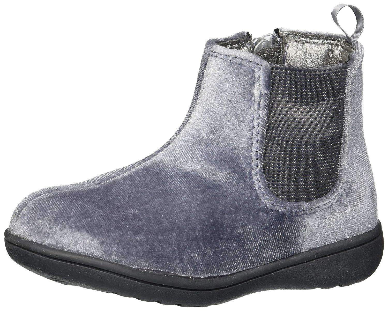 Carter's Kids Girl's France2 Grey Velvet Boot Ankle Carter's CF180312