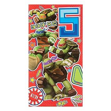 Amazon.com: Teenage Mutant Ninja Turtles 5ª y tarjeta de ...