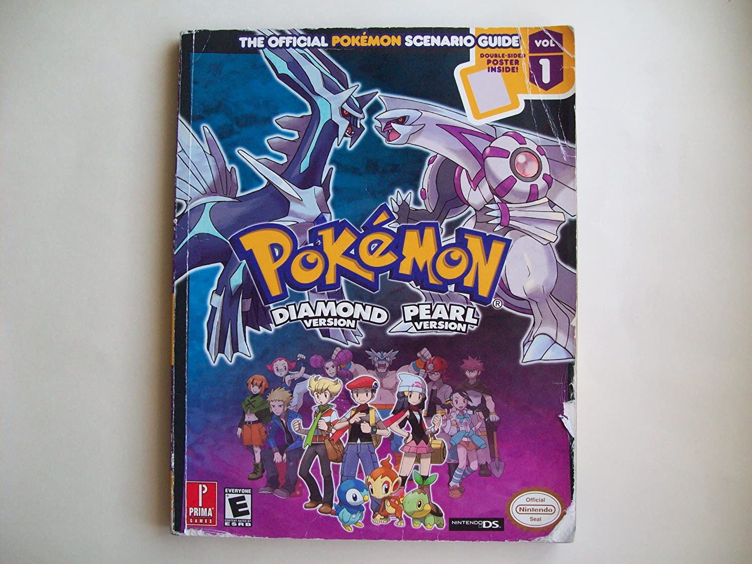 amazon com pokemon diamond pearl strategy guide computers rh amazon com pokemon diamond and pearl guide book Pokemon Chapter Books