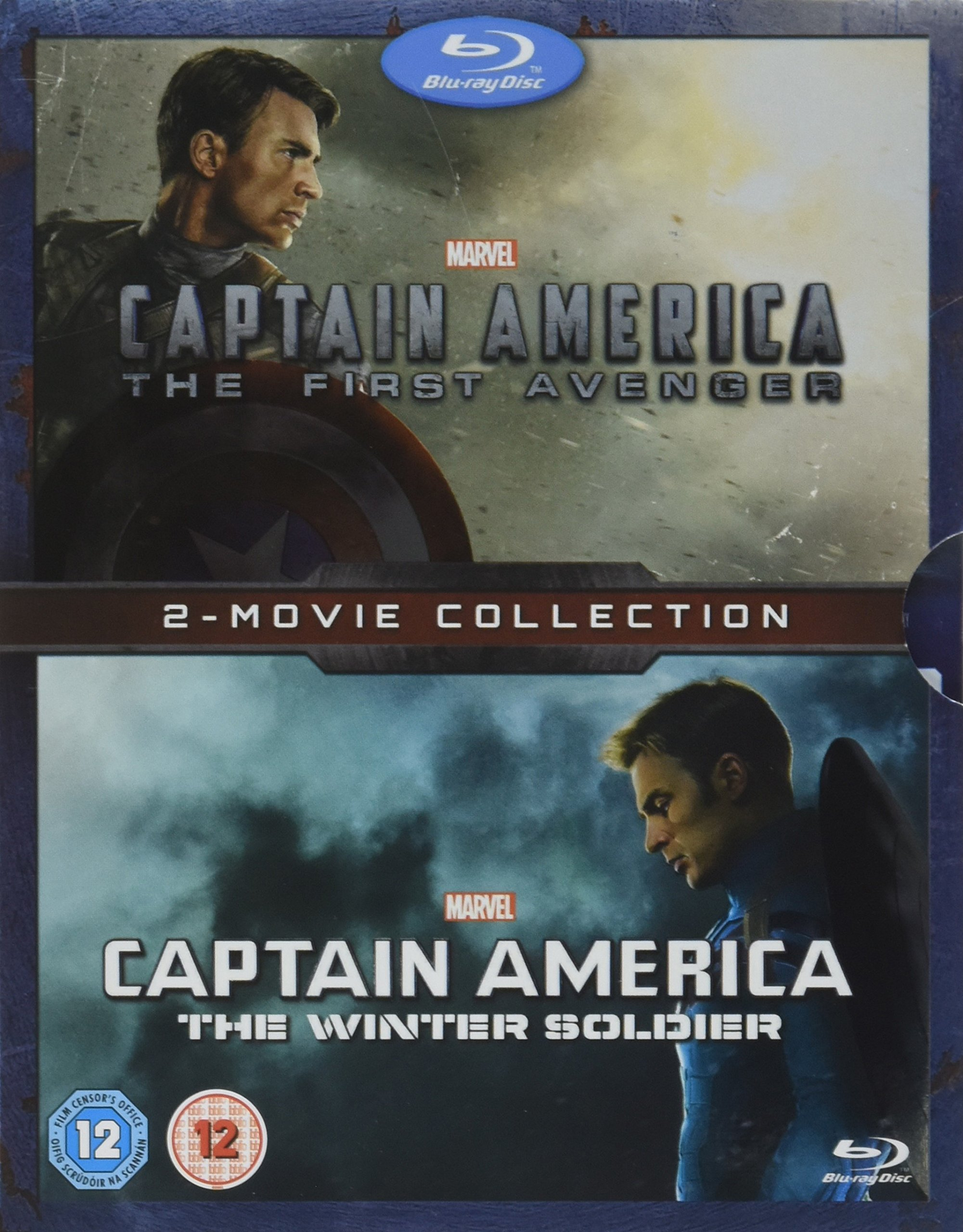 Captain America: 2-Movie Collection (The First Avenger / The Winter Soldier) [Blu-ray] by Walt Disney Studios Home Entertainment