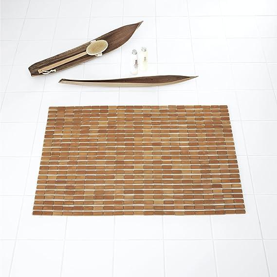 Ridder 7950309 Holzvorleger, Bambusmatte, ca. 60 x 90 cm, Bamboo ...