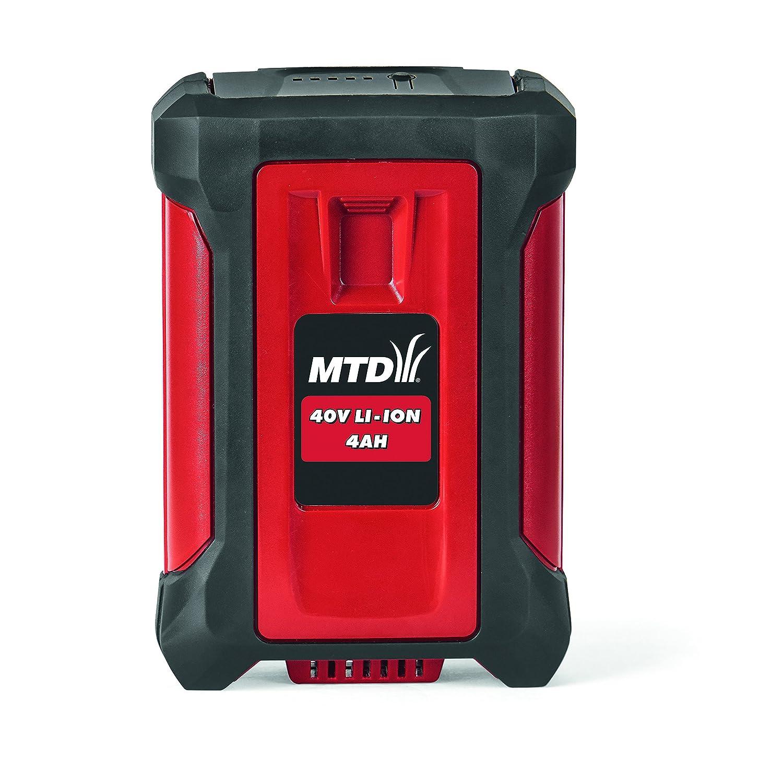 MTD 196 - 670 - 600 Ion de Litio - 4, 0 Ah Batería, 40 V, Rojo, 20 ...