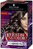 Schwarzkopf Keratin Color Permanent Hair Color Cream, 3.0 Espresso