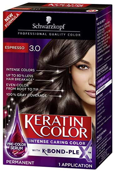 18d4f9c3b0b6b Image Unavailable. Image not available for. Color: Schwarzkopf Keratin Color  Permanent Hair ...