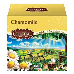 Celestial Seasonings Herbal Tea, Chamomile, 40 Count Box