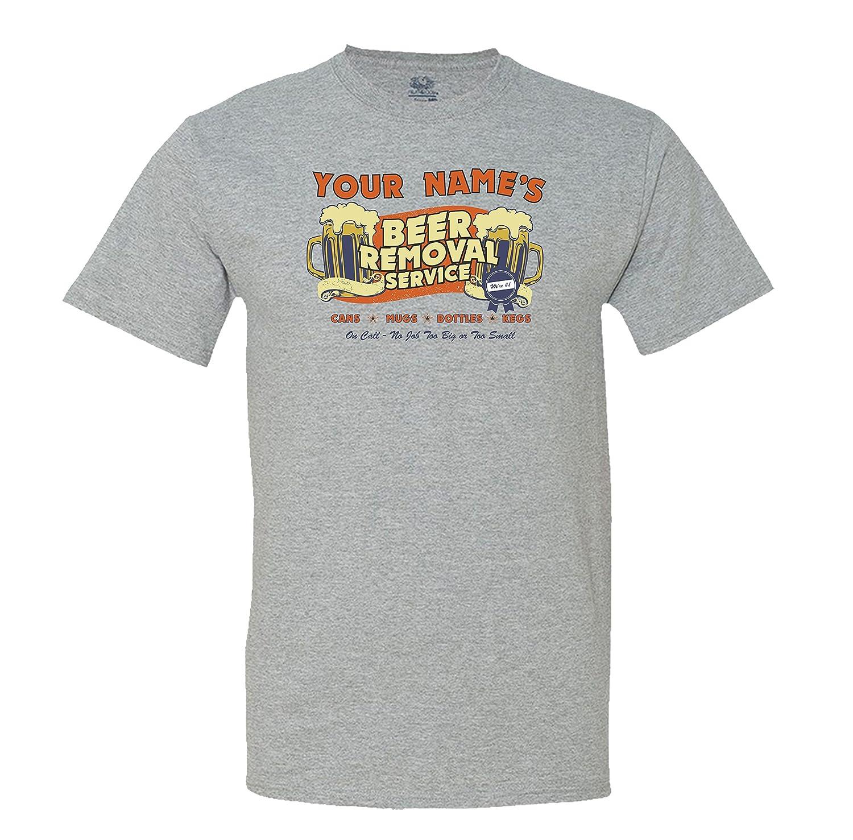 fdb80cbc93e6 Amazon.com: mintytees keepin' It Fresh Custom Beer Removal Service Men's T- Shirt: Clothing