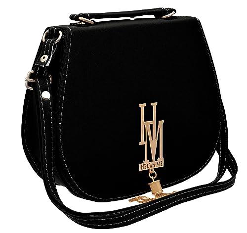 Tap Fashion Women s Sling Bag(Black 7ebb5ea39f83b