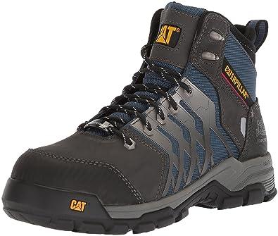 47027190ca0 Caterpillar Men's Induction Waterproof Nano Toe Med Charcoal Industrial Boot