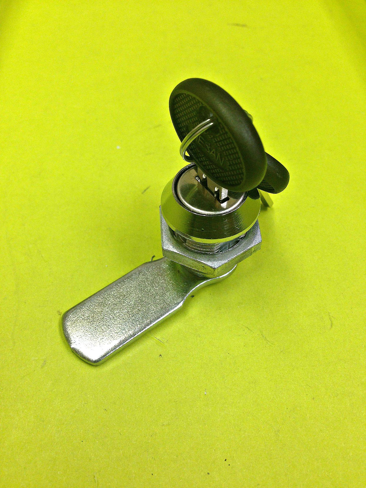 Lot of 4 Cam Lock File Cabinet Mailbox Desk Drawer Cupboard Locker + 2 Keys 90° Rotation 050.20.03.50