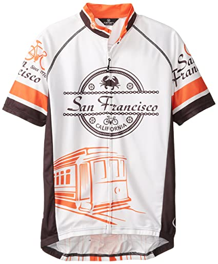 0b61a71cc Amazon.com   Canari Men s San Francisco Jersey   Sports   Outdoors